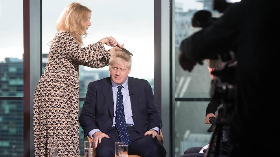 Бывший журналист, а ныне премьер-министр Великобритании Борис Джонсон не любит появляться в студиях BBC