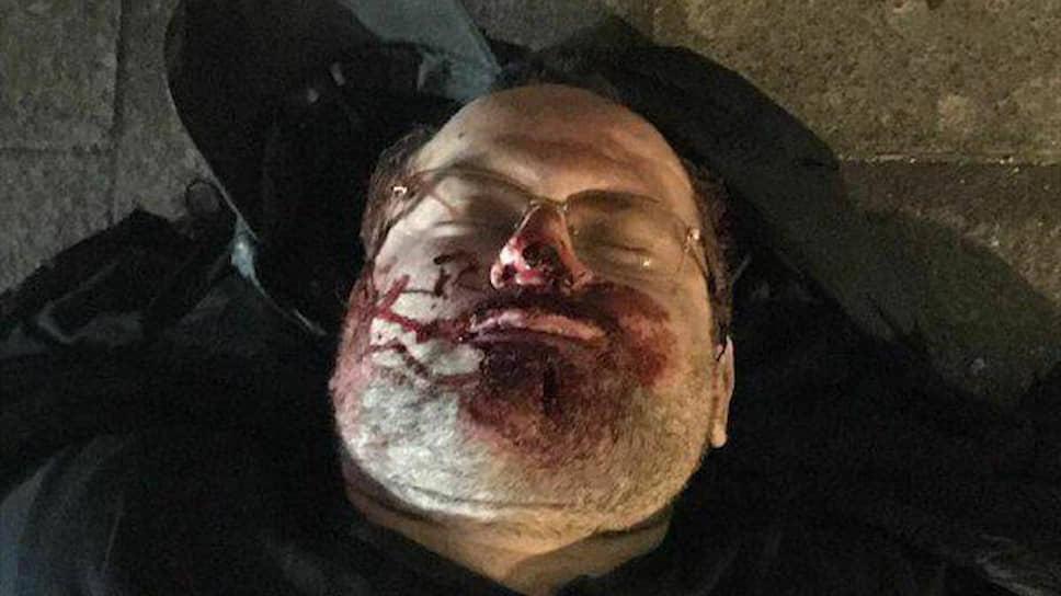 Предполагаемый преступник, напавший на правоохранителей и граждан у центрального здания ФСБ
