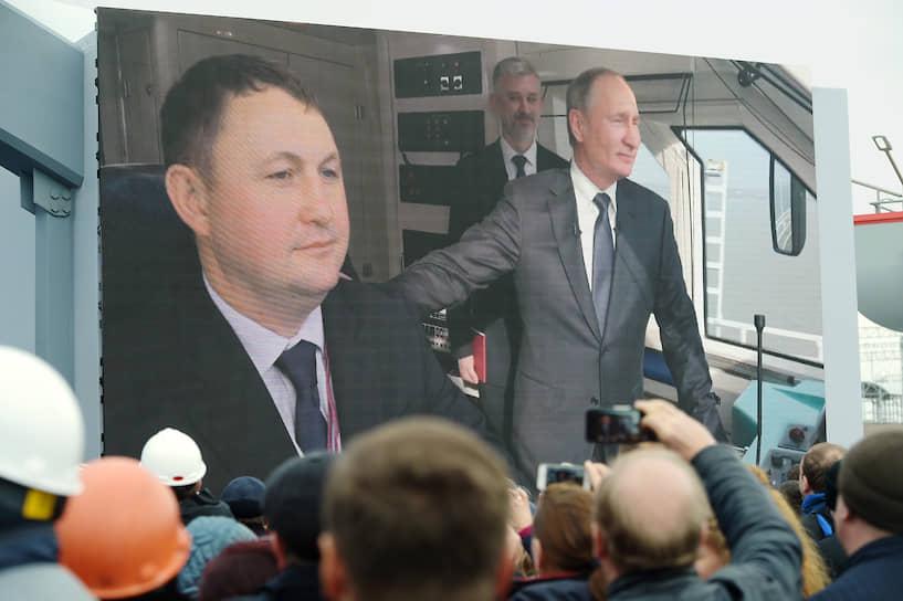 Ничего странного в том, что во всем поезде Владимира Путина заинтересовала прежде всего кабина машиниста