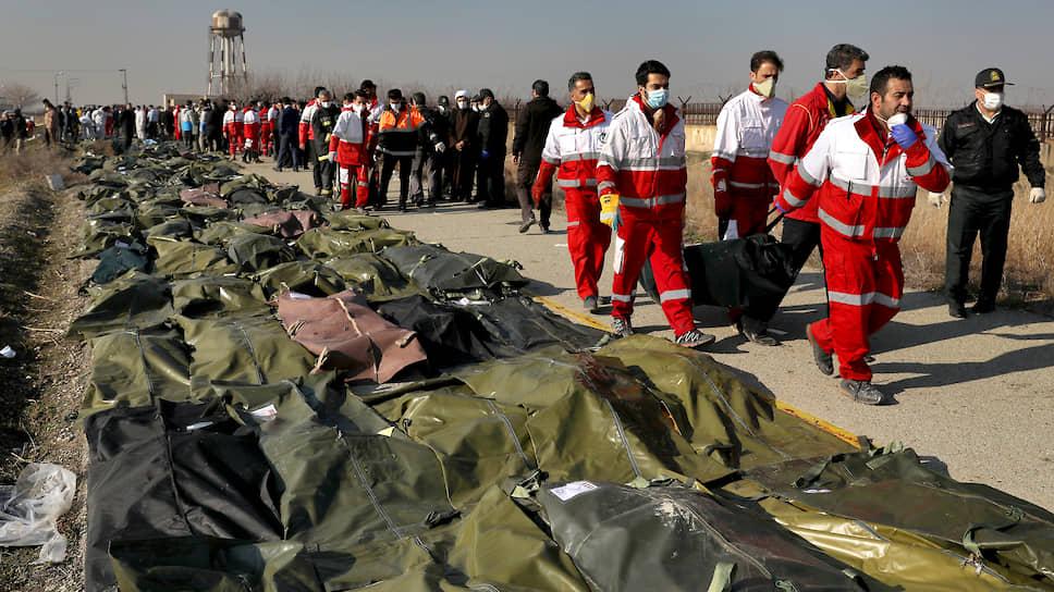 На борту лайнера, направлявшегося из иранской столицы в Киев, находились 177 человек. Все они погибли