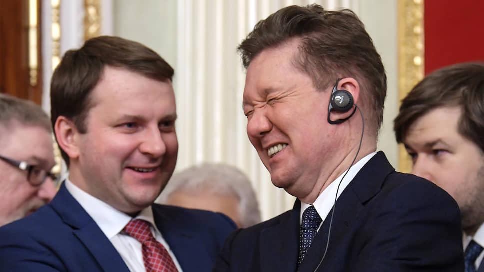 Глава «Газпрома» Алексей Миллер (справа) уверен, что с «Северным потоком-2» все будет очень хорошо