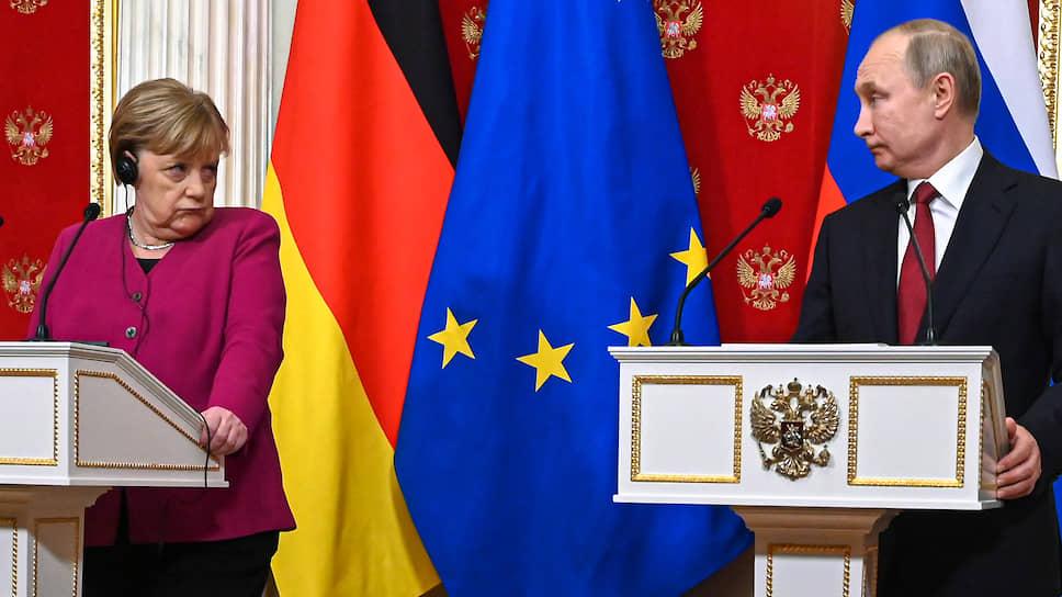 Ангела Меркель дала понять, что России самой придется достраивать «Северный поток-2»