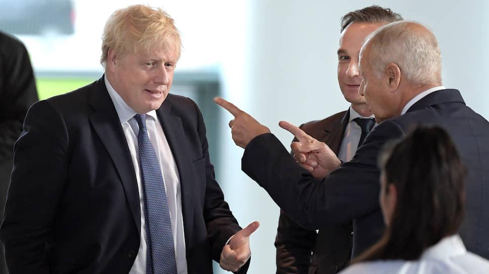 Британский премьер Борис Джонсон был по всем признакам доволен фактом своего участия в конференции