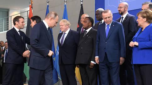 Здесь вам не Каддафи — здесь климат иной  / Зачем Владимир Путин участвовал в Берлинской конференции, которая не вынесла двоих