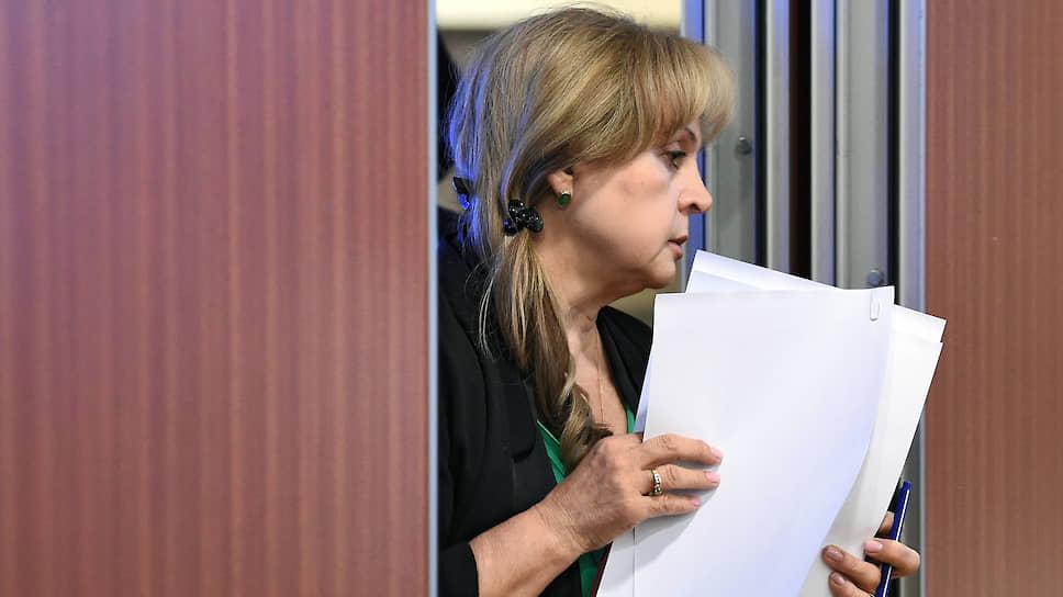 Глава ЦИКа Элла Памфилова готова организовать всенародное голосование, как только поручит президент