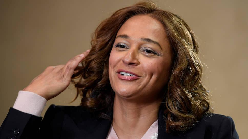 Дочь бывшего президента Анголы Изабел душ Сантуш