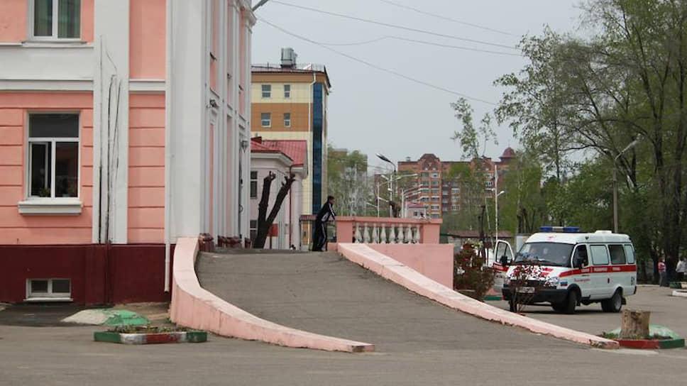 Амурская областная детская клиническая больница (АОДКБ) в Благовещенске