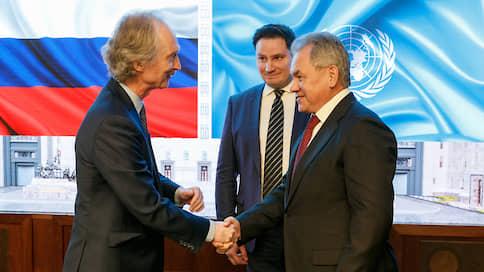 Для Сирии готовят спецпослание  / Представитель генсека ООН оценил в Москве российскую роль в сирийском урегулировании