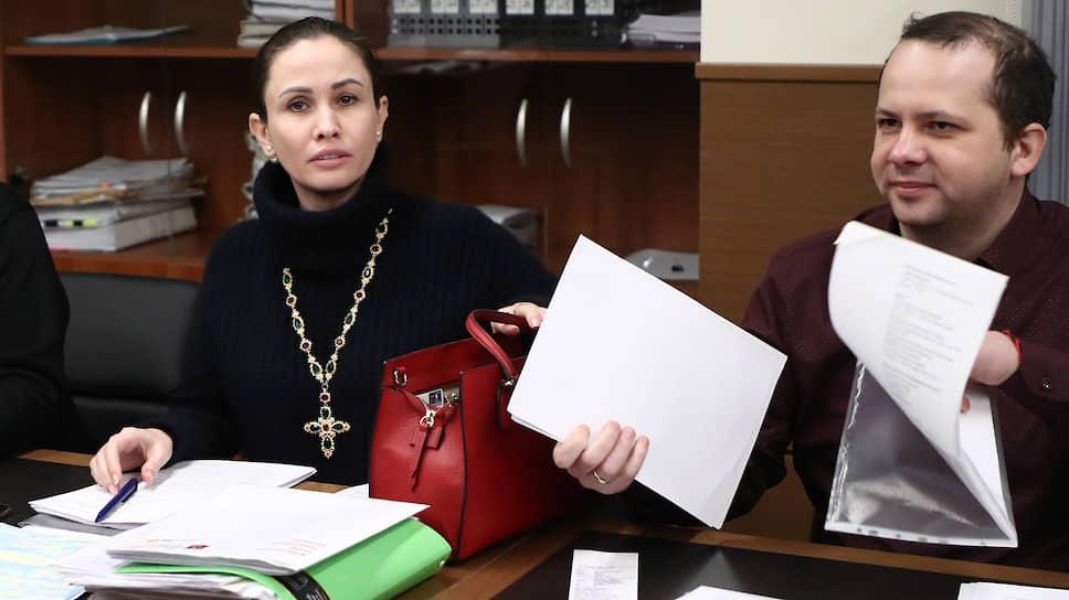 Адвокат ответчиков Ольга Лукманова