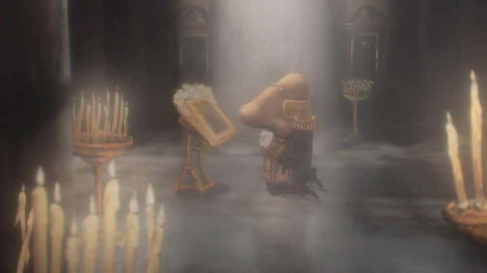 Опера «Нос» экранизирована Андреем Хржановским средствами анимации