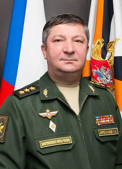 Заместитель начальника Генштаба Вооруженных сил России, генерал-полковник Халил Арсланов