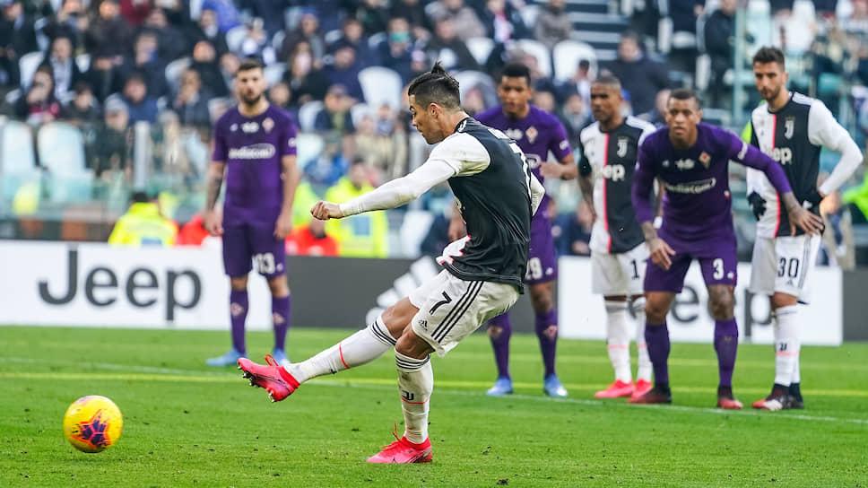Результативная серия Криштиану Роналду в матчах за «Ювентус» достигла уже девяти матчей