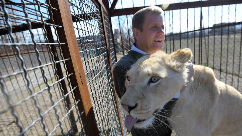 Владелец сафари-парка «Тайган» Олег Зубков
