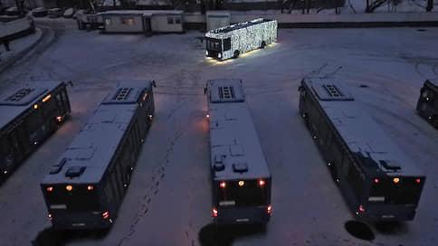 ГИБДД заглянула на огонек // Ведомство выявило нарушение в подсветке электробусов