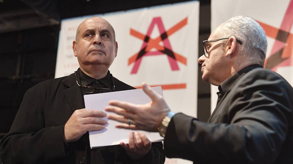 Пьер Оди (слева) и Антон Гетьман продолжат сверять театральные планы
