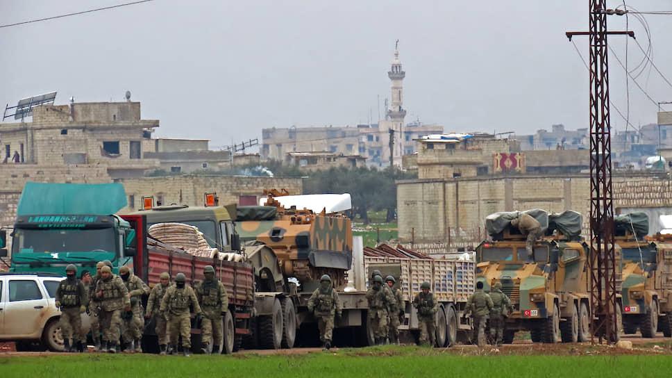 """В случае """"нанесения ущерба"""" турецким военным, как и в случае ударов по гражданскому населению в Идлибе, президент Эрдоган пригрозил атаковать проасадовские силы"""