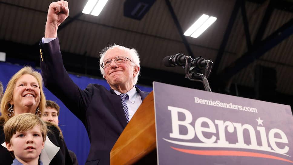 Как прошли праймериз демократической партии в штате Нью-Гемпшир