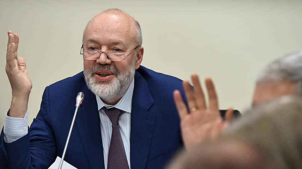 Павел Крашенинников предложил коллегам по Госдуме называться суперменами, но идею вписать в Конституцию сенаторов не поддержал
