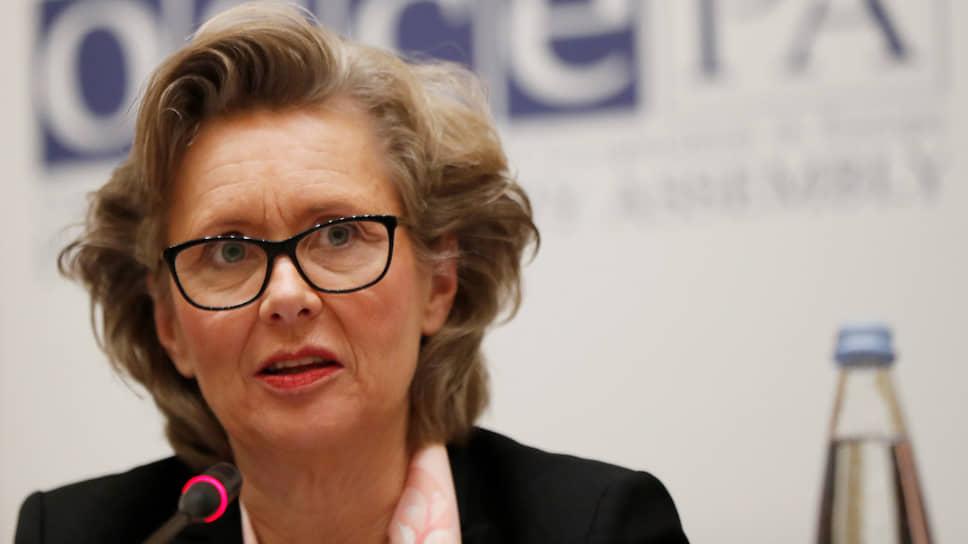 Зампред Парламентской ассамблеи ОБСЕ Маргарета Седерфельт считает необходимым заново расследовать убийство Бориса Немцова