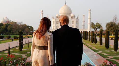Индия выбрала Дональда Трампа  / Визит президента США в «самую большую демократию» проходит с небывалым размахом