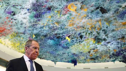 Лавровое бомбометание  / Глава МИД РФ в Женеве обрушился на Украину, Прибалтику и США, припомнив последним и Хиросиму