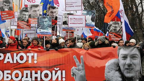 Шествие покажет  / Марш памяти Бориса Немцова пройдет под актуальными лозунгами