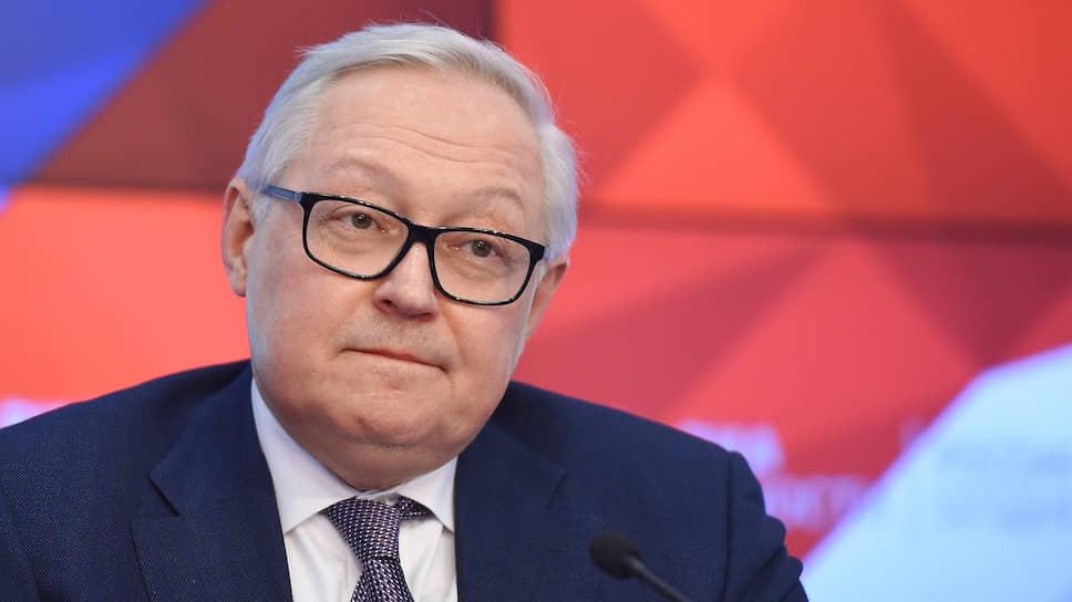 Заместитель главы МИД РФ Сергей Рябков