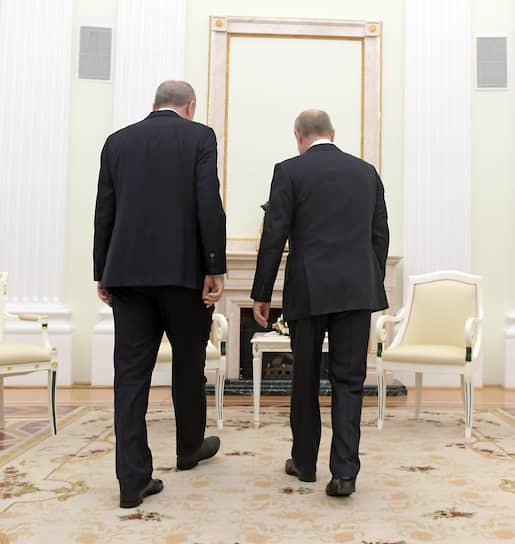 Начало переговоров в Кремле не сулило ничего особенно хорошего