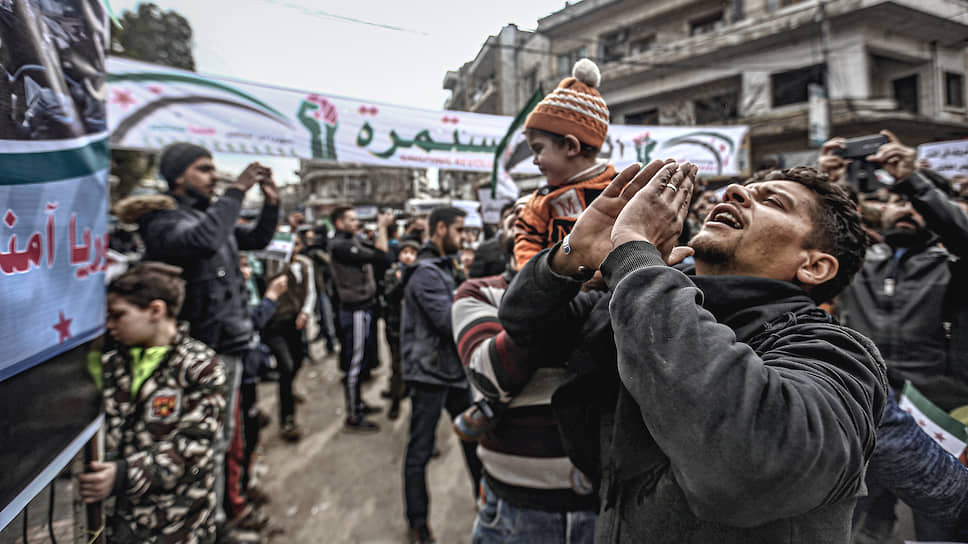 Жители сирийского Идлиба (на фото) надеются, что договоренности о прекращении огня в зоне деэскалации будут соблюдаться