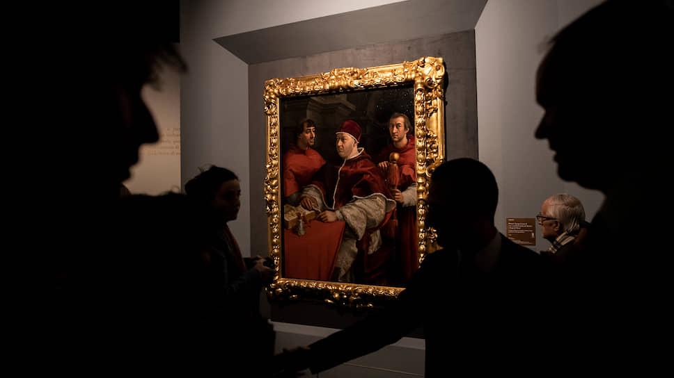 На грандиозной выставке Рафаэля в Риме сейчас нет даже тени посетителей