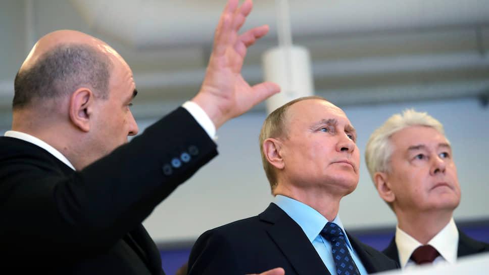 Как Владимир Путин наблюдал за коронавирусом, бьющимся в сетях Михаила Мишустина и Сергея Собянина