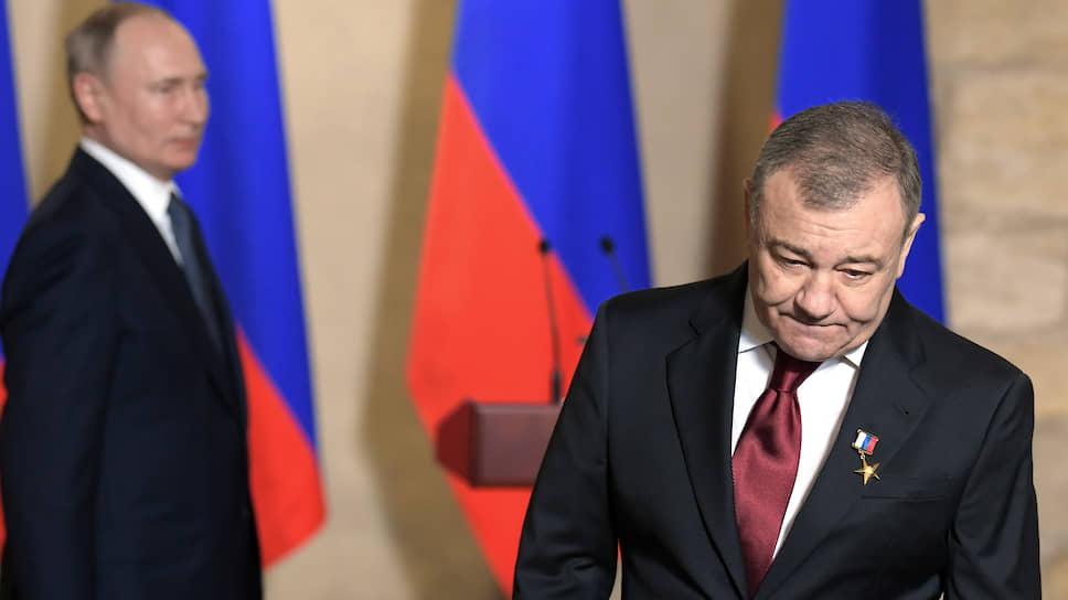 Аркадий Ротенберг благодарил Господа Бога, Россию и Владимира Путина, которому служит, как и стране
