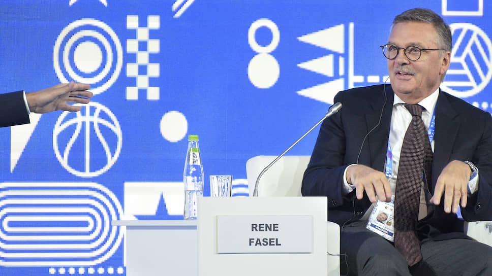 Рене Фазель: «Международному хоккейному сообществу пришлось столкнуться с суровой реальностью, но у нас нет иного выбора, кроме как принять ее»
