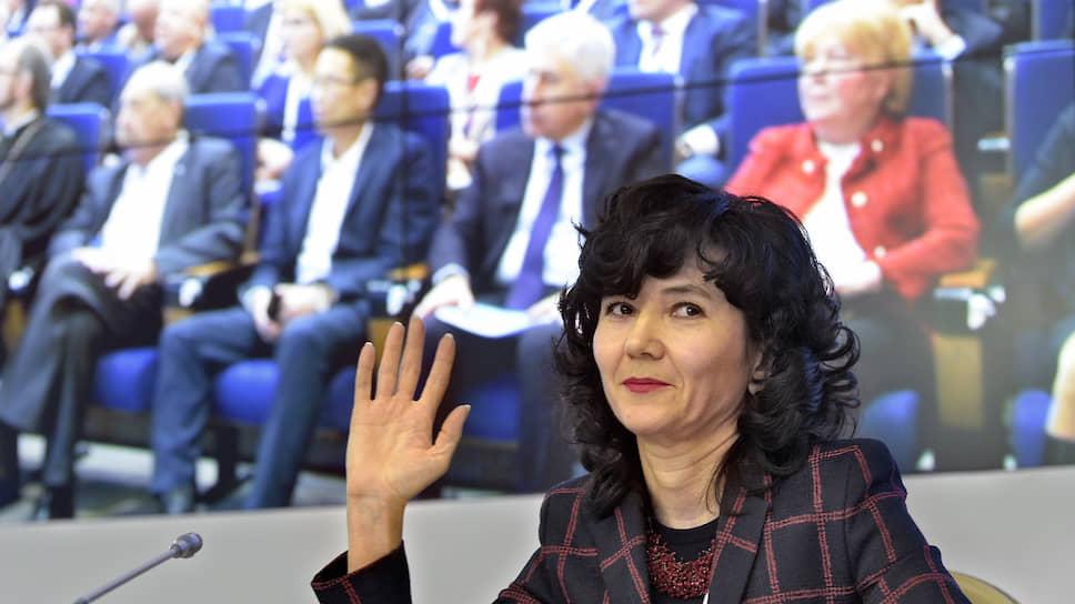 Секретарь Общественной палаты Лидия Михеева