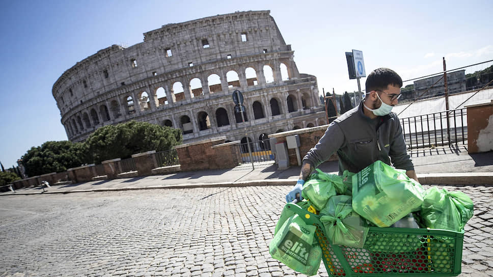 Продовольственные магазины в Италии открыты, и товаров в них не меньше, чем до эпидемии