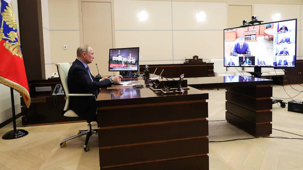 Прием по назначению Кремля / Владимир Путин провел консилиум с полпредами