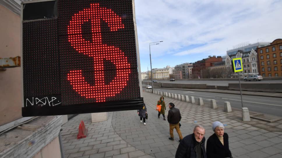 Вкладчики снимают валюту