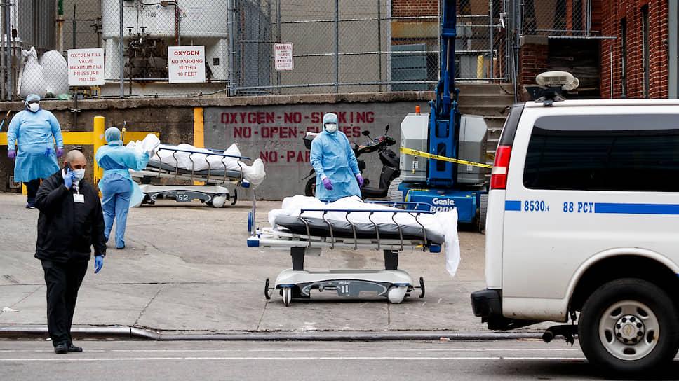 Город живого дьявола  / Как Нью-Йорк выживает в условиях пандемии