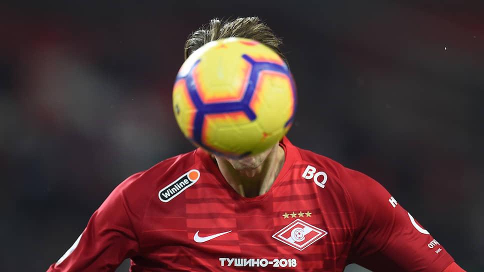 Футболисты «Спартака» согласились вплоть до возобновления чемпионата страны получать на 40% меньше, чем положено по контракту