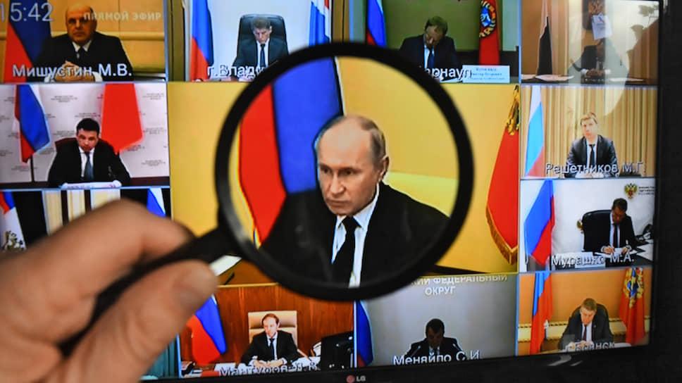 Владимир Путин не потерялся на фоне огромного количества собеседников и нуждающихся в поддержке