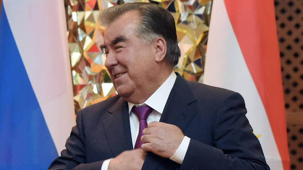 Президент Республики Таджикистан Эмомали Рахмон