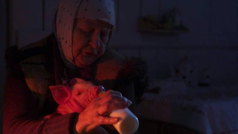 Главная героиня «индустриальной» сказки «Керосин», старуха Павла (Елена Сусанина), больше всего мечтает о поросенке