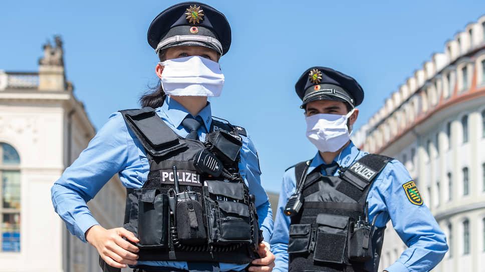 Полиция ФРГ строго следит за соблюдением правил пребывания на улице и в общественных местах, а нарушителям выписывает немаленькие штрафы