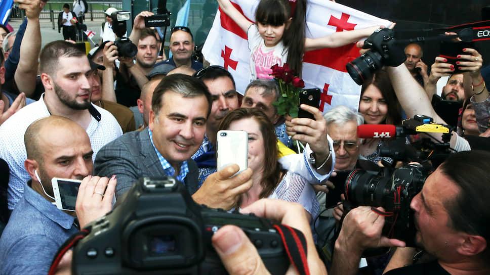 Экс-президент Грузии Михаил Саакашвили готовится не просто к триумфальному возвращению на Украину, но и к восхождению на политический олимп