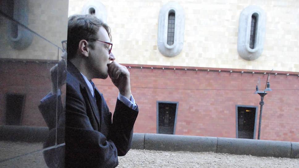 Режиссер Илья Хржановский на съемках «Дау» в 2010 году