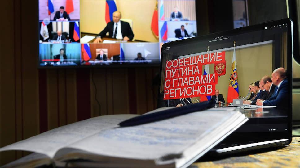 Владимир Путин долго работал над своей речью