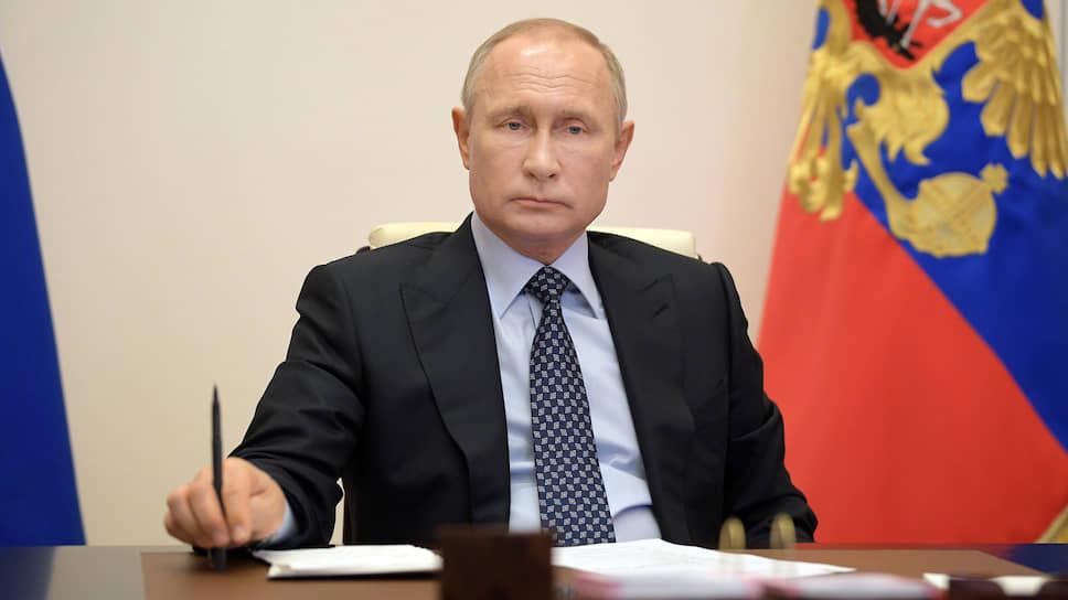 Владимир Путин считает, что ТЭК устоит