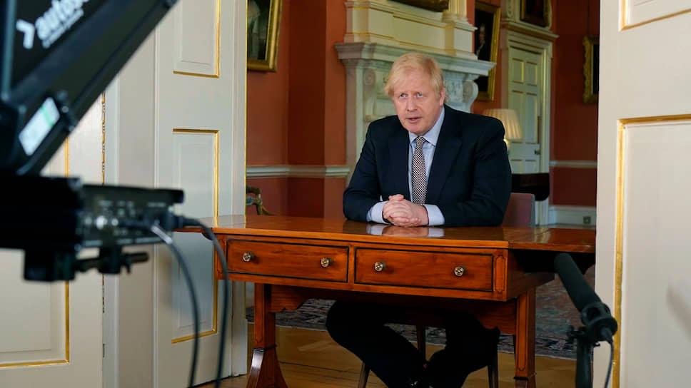 Премьер Британии Борис Джонсон видит главной задачей правительства достижение баланса между контролем над распространением вируса и постепенным восстановлением экономики