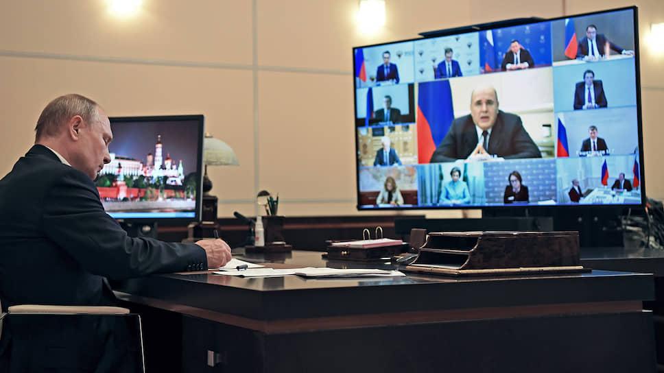 Премьер-министр Михаил Мишустин вернулся с больничного к президенту Владимиру Путину с почти готовым планом экономического восстановления
