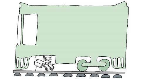 Украинским колесам не покатило // Возвращение пошлины на них поддерживает ОАО РЖД